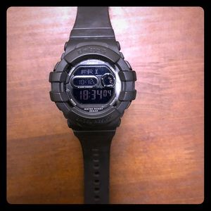 Baby G shock watch. Black